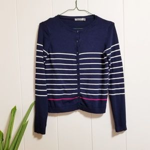 Bershka Striped Cardigan